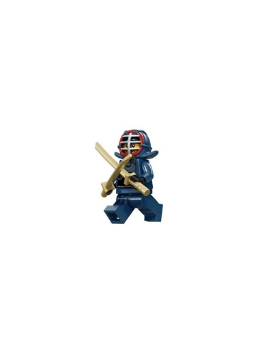 Lego Lego Minifigür - Seri 15 - 71011 - Kendo Fighter Renkli